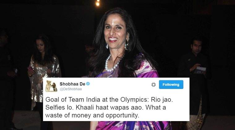 An advice to Shobha De